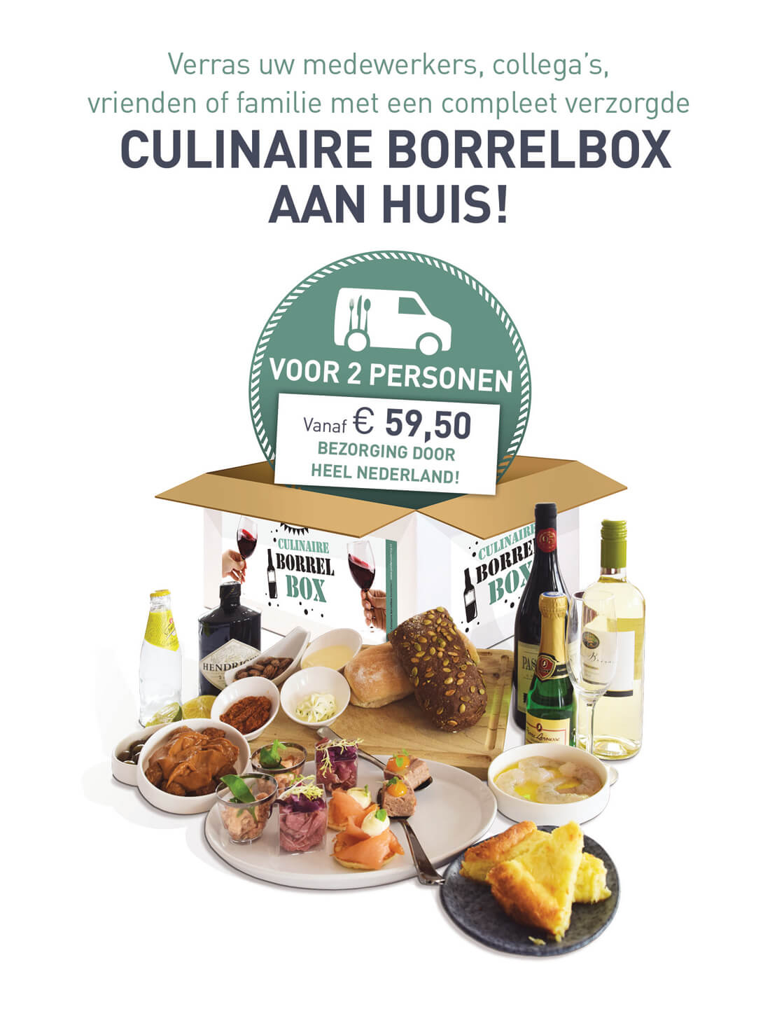 Culinaire Borrelbox Poldercatering